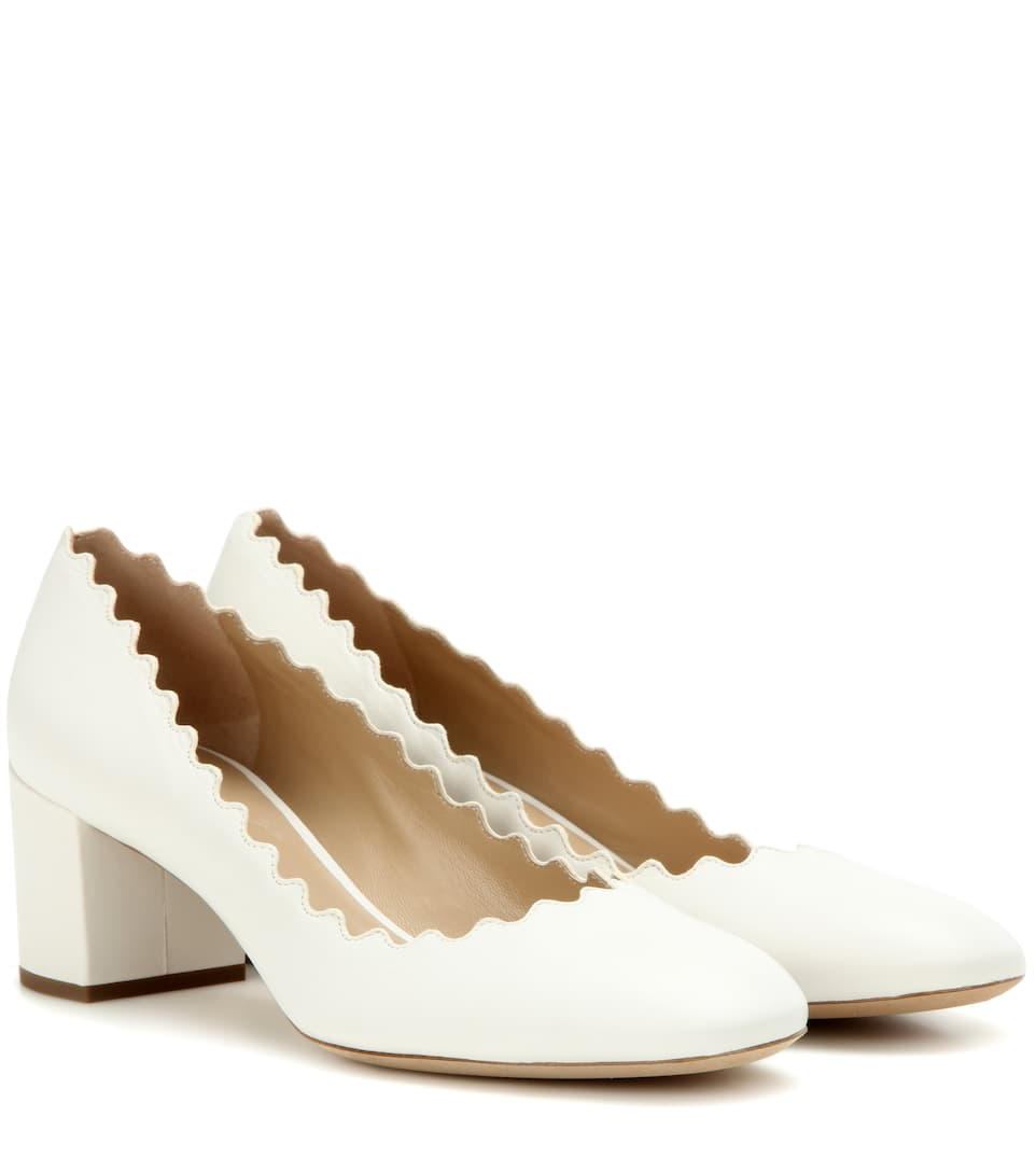 e1f7092561c7 CHLOÉ LAUREN LEATHER PUMPS