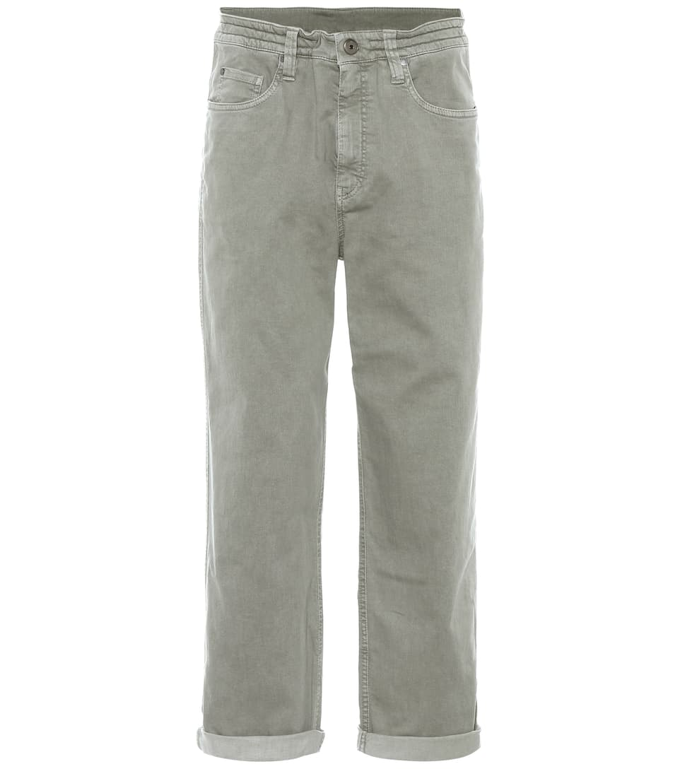Brunello Cucinelli Jeans The Drawstring Loose