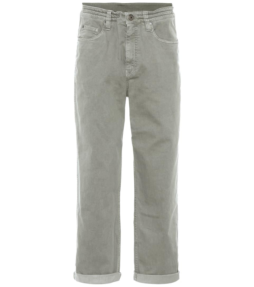 Brunello Cucinelli Jeans The Drawstring Loose Online-Suche Zu Verkaufen Billig 100% Authentisch 7Ucprl