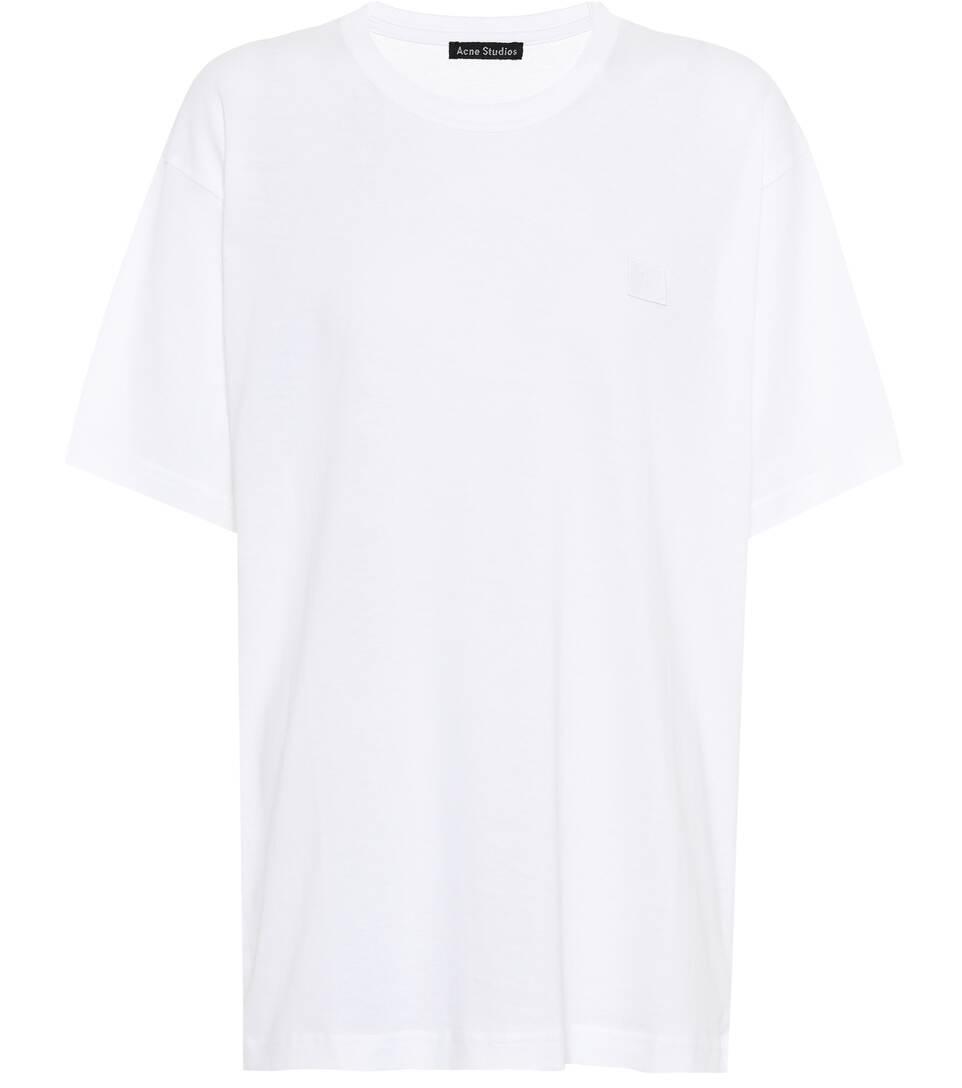 Acne Studios T-Shirt Nash Face aus Baumwolle