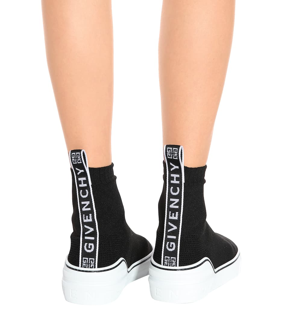 38c6e939ea George V Stretch Knit Sneakers - Givenchy