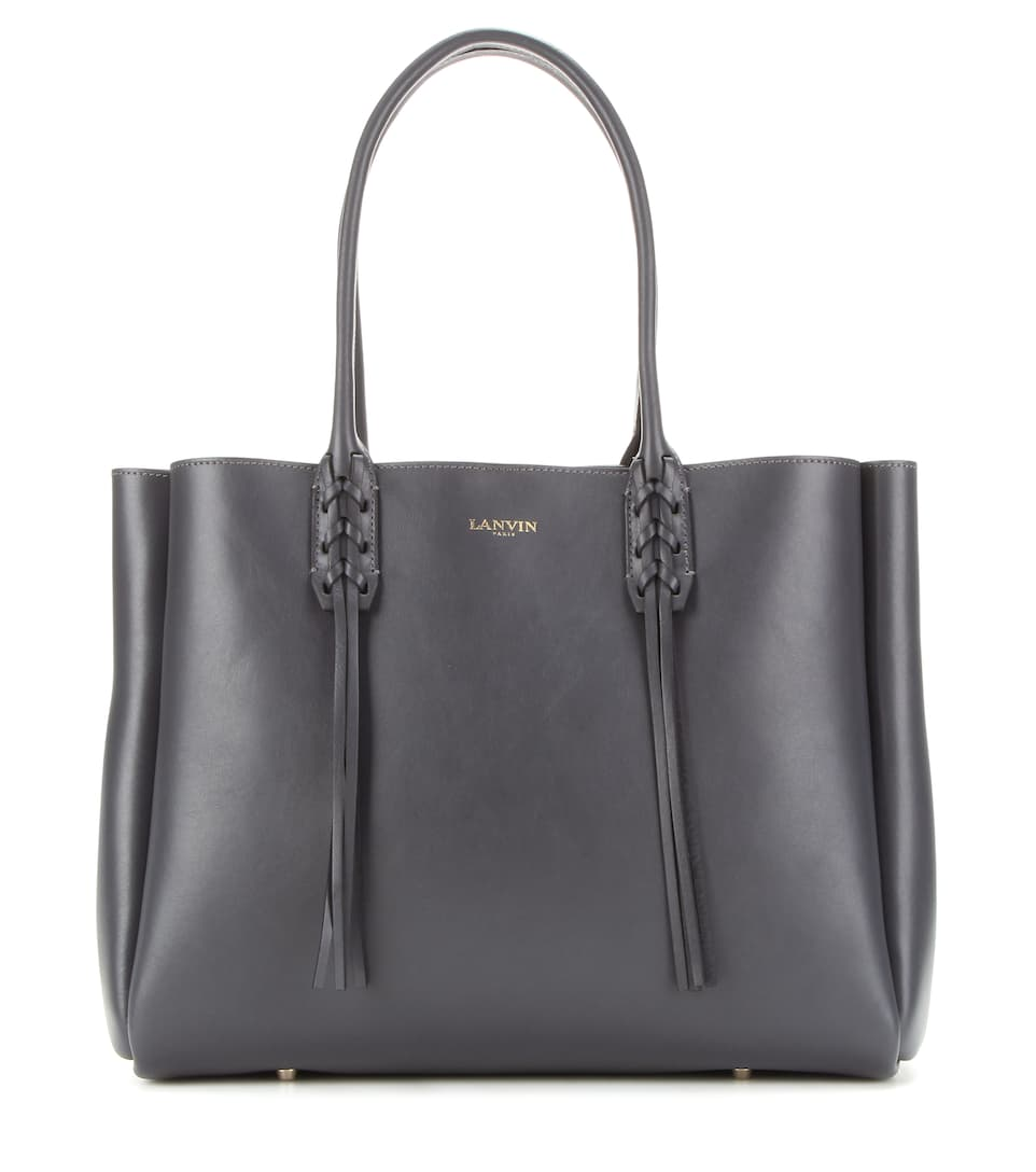 Lanvin Nela leather tote
