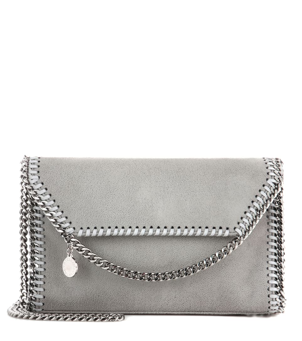 Stella McCartney Falabella Shaggy Deer shoulder bag Light Grey Countdown Package ckFI50ph1z