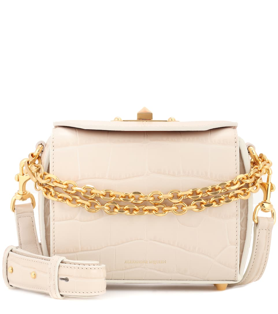 Alexander Mcqueen Leather Shoulder Bag From