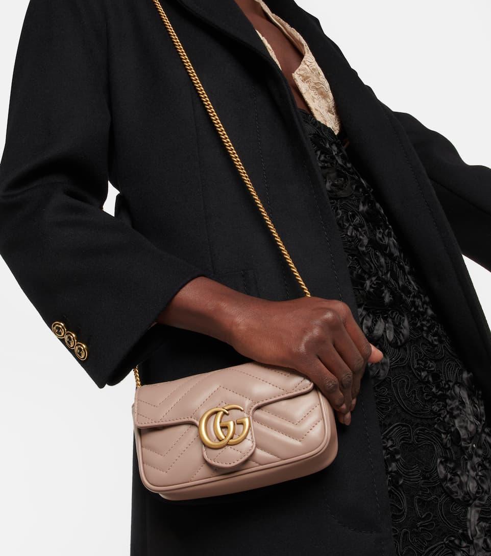 00ca017cb97a2c Borsa A Tracolla Gg Marmont Mini In Pelle - Gucci   mytheresa