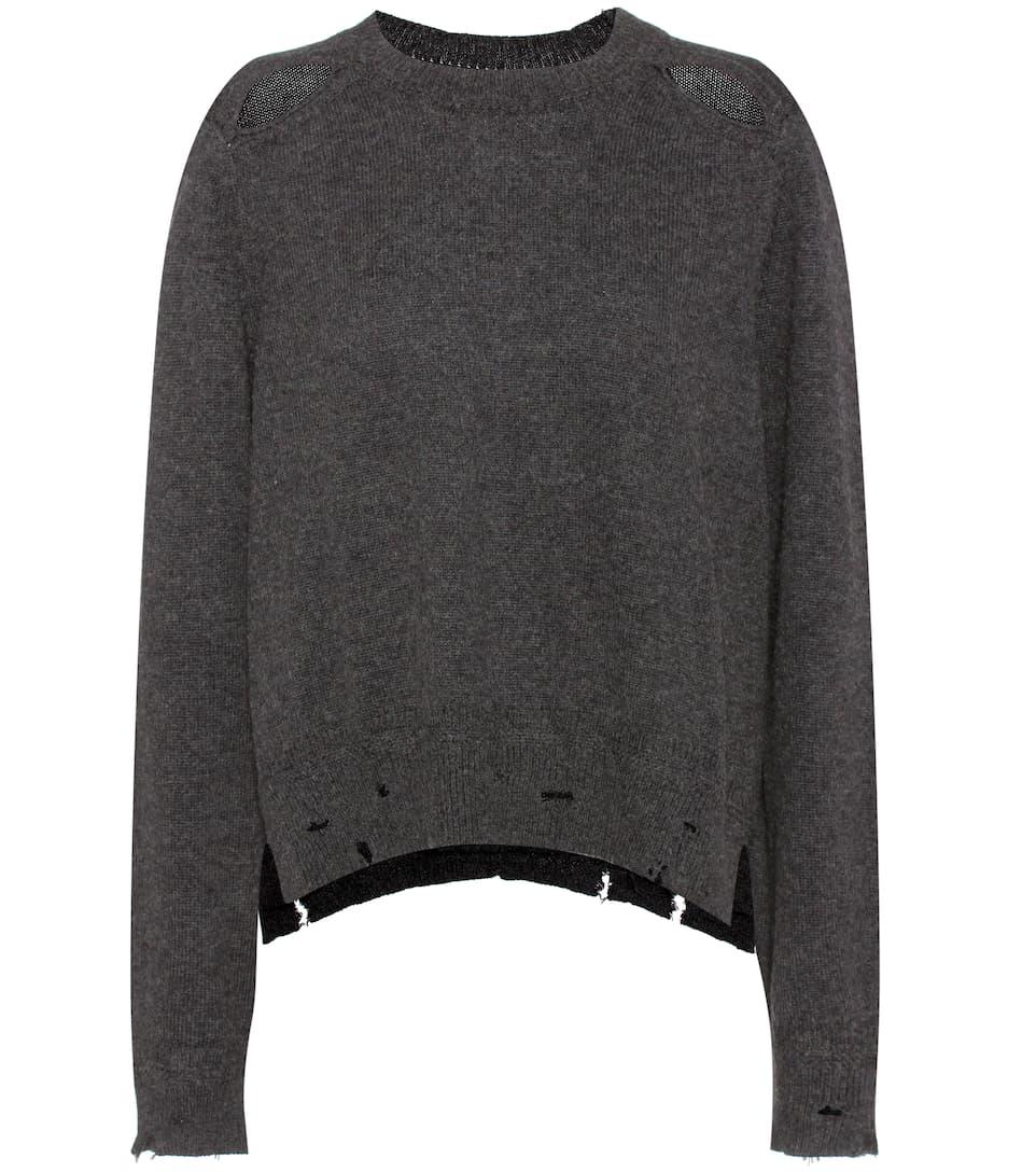 Kelia Cotton And Wool Sweater - Isabel Marant, Étoile | mytheresa