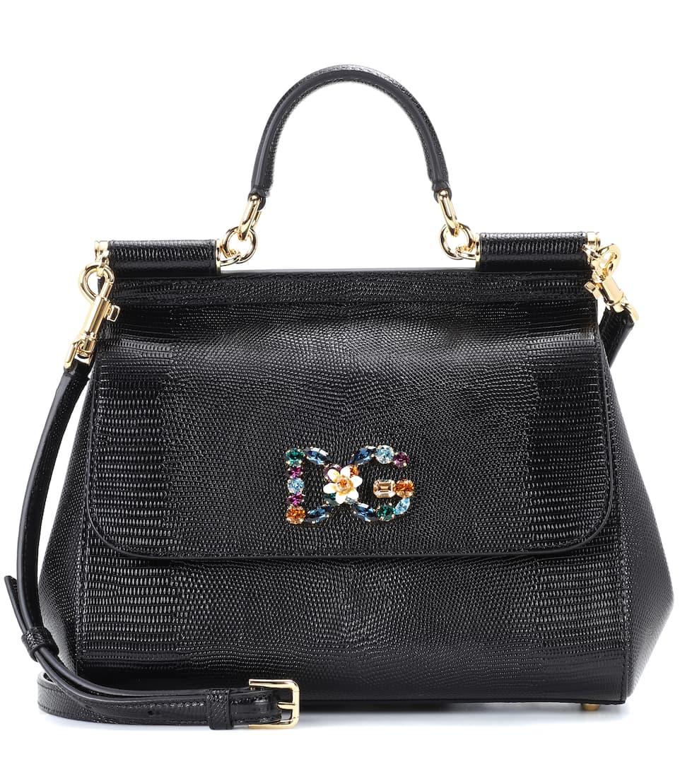 Dolce & Gabbana Tote Sicily aus Leder Billig Verkauf Zahlung Mit Visa Eastbay Zum Verkauf Billig Limited Edition OMDIlu85Sq