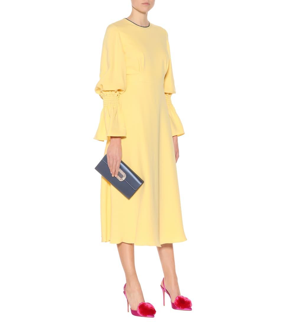 Roksanda Kleid Duana aus Seide Günstig Kaufen Rabatte Online Kaufen Neue Neuesten Kollektionen Verkauf Online Rabatt 100% Garantiert Rabatt Echte WLfE4Le