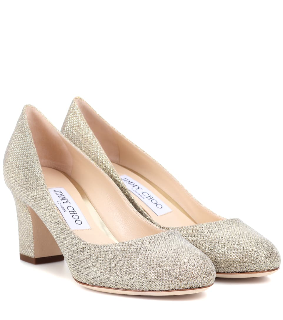 Jimmy Choo Pumps Billie 65 aus Lamé