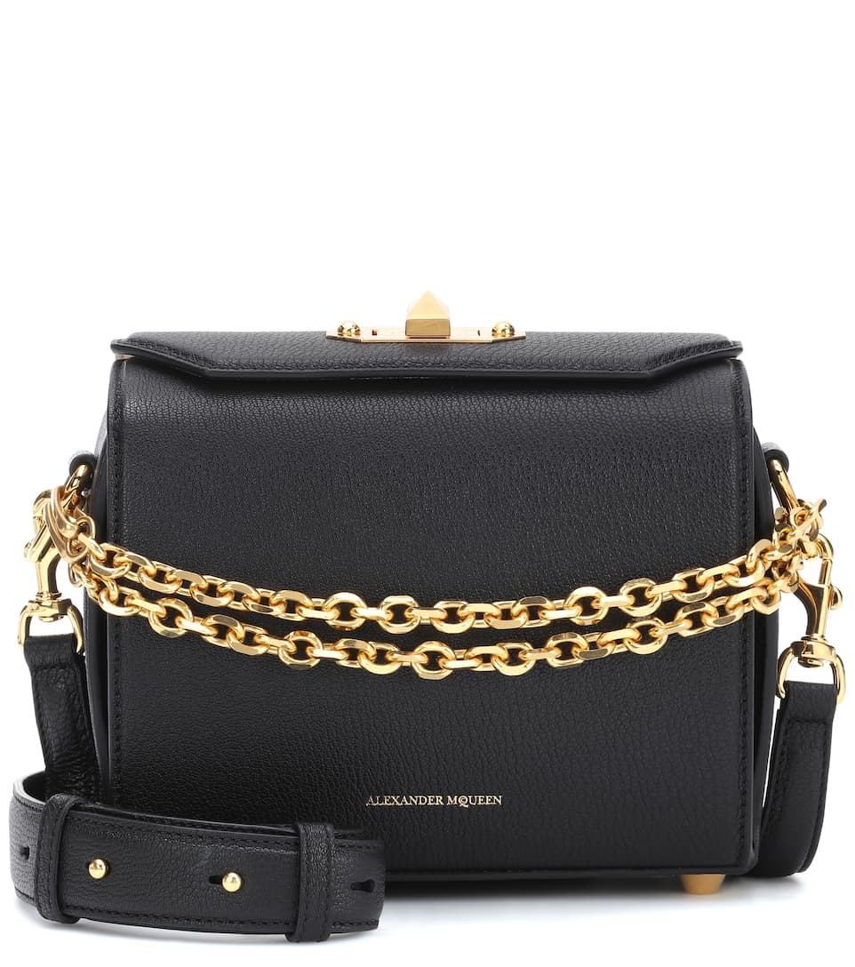 5a36765c34b3 Sac Cross-Body En Cuir Box 19 - Alexander McQueen Réduction De 100%  Authentique