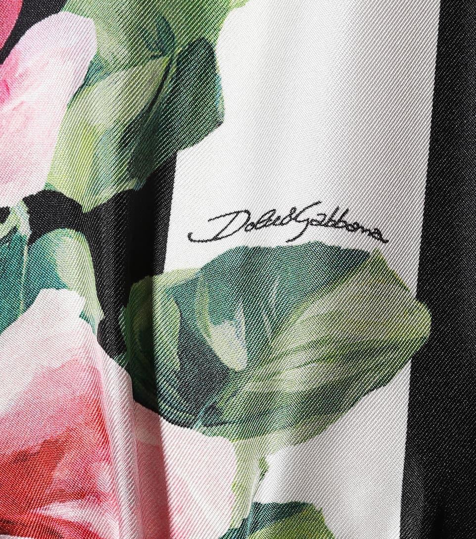 Dolce & Gabbana Bedruckter Seidenkaftan