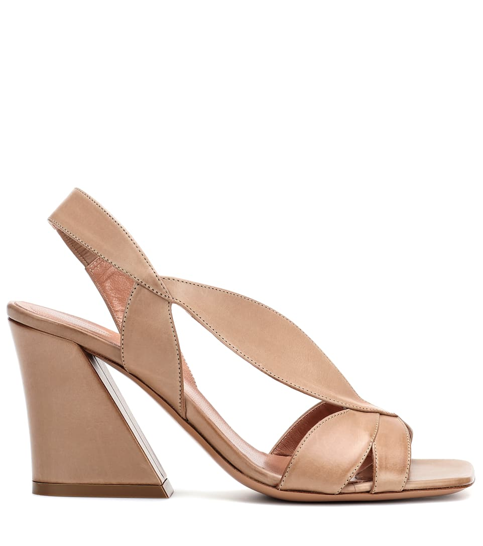 Dries Van Noten Ledersandalen