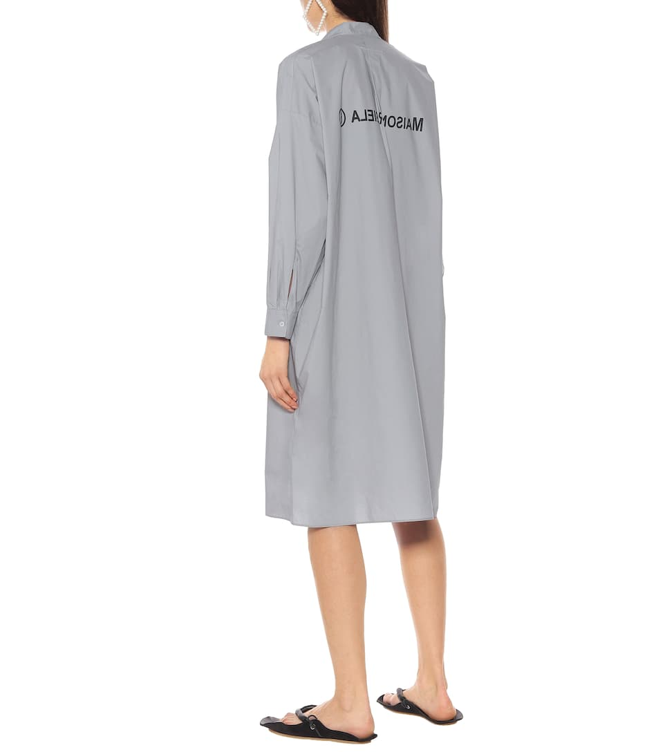 MM6 Maison Margiela - Logo cotton dress