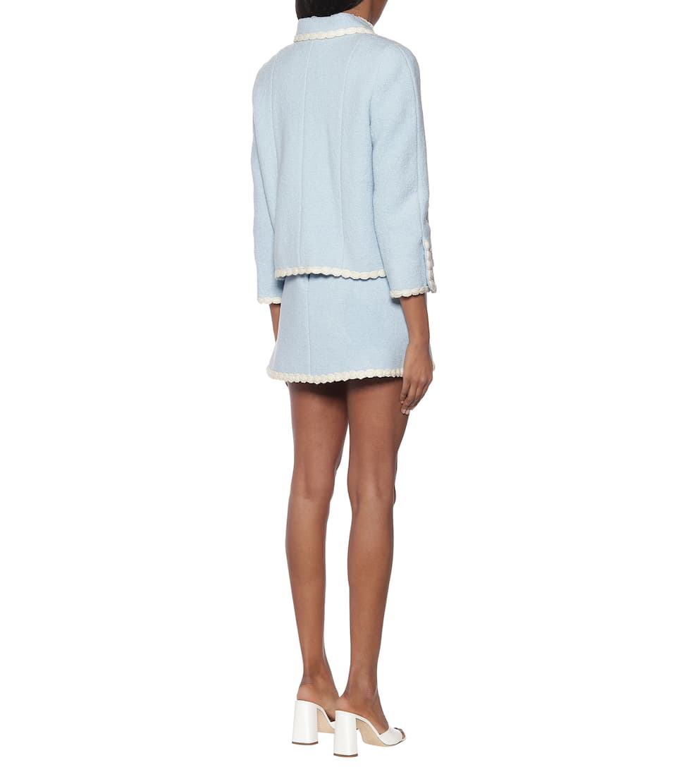 Marc Jacobs - The Tweed wool-blend blazer