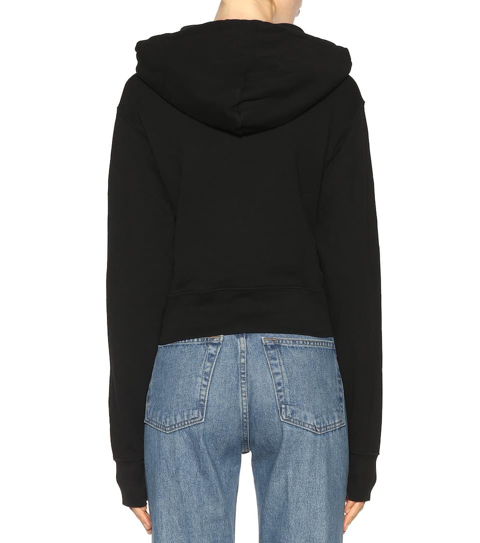 Re/Done Hoodie aus Baumwolle Billig Verkaufen Kaufen Sehr Günstig Günstig Kaufen Mit Kreditkarte Spielraum Perfekt iAhhBTJy