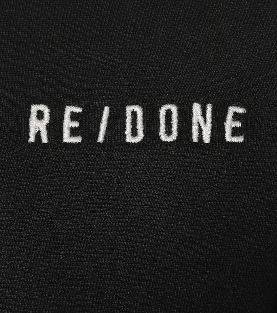 Re/Done Hoodie aus Baumwolle