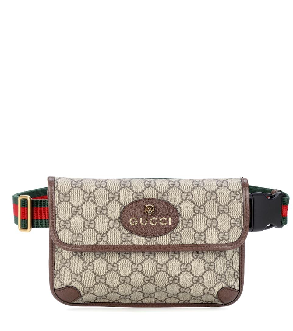 8a6b5ee8155 Leather-Trimmed Belt Bag - Gucci