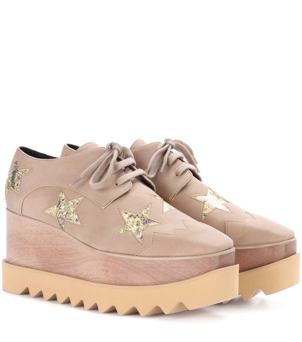 Elyse Metallic Stars Platform Shoes Stella McCartney sl7YZbIr
