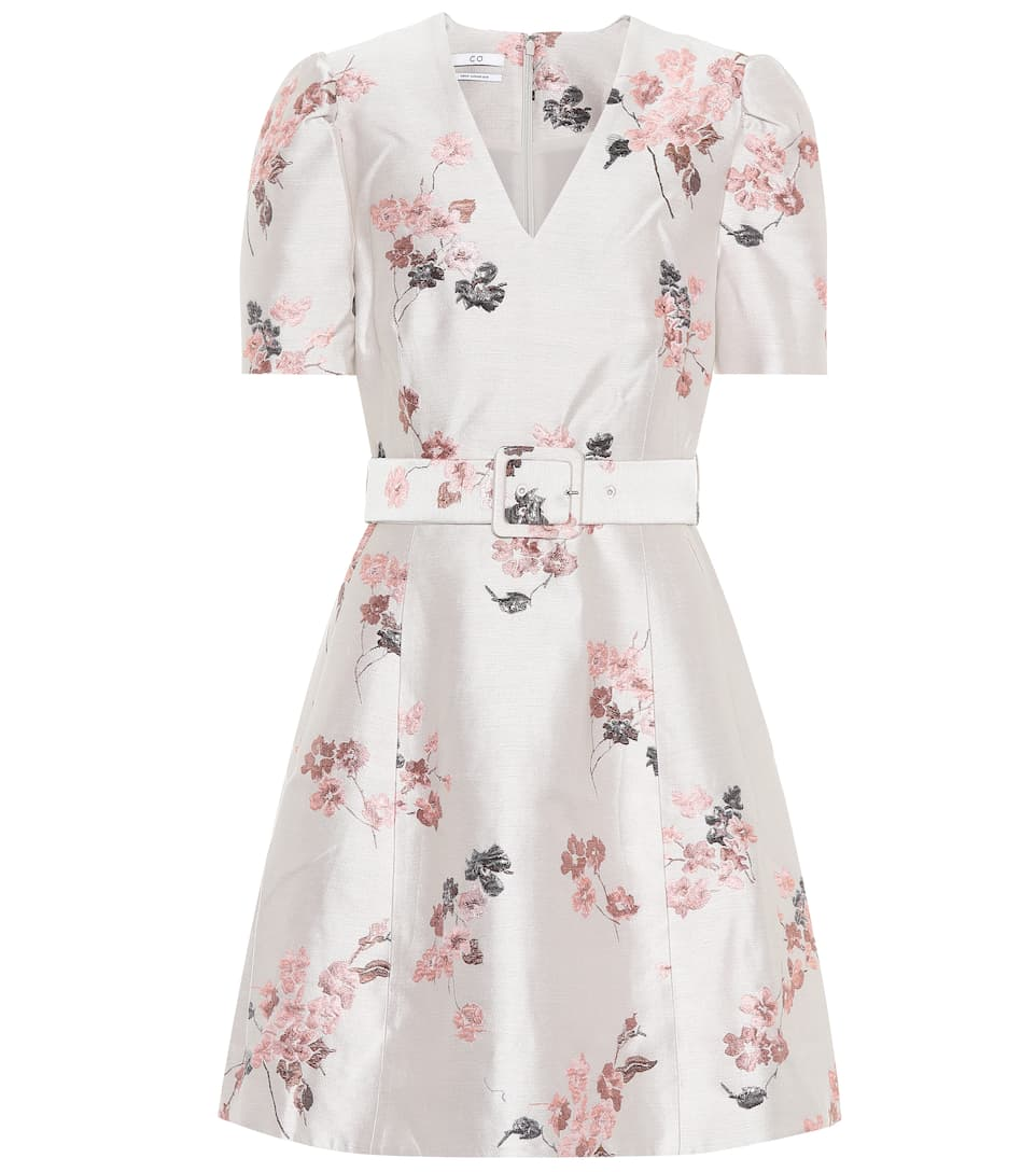 Co Kleid aus Brokat