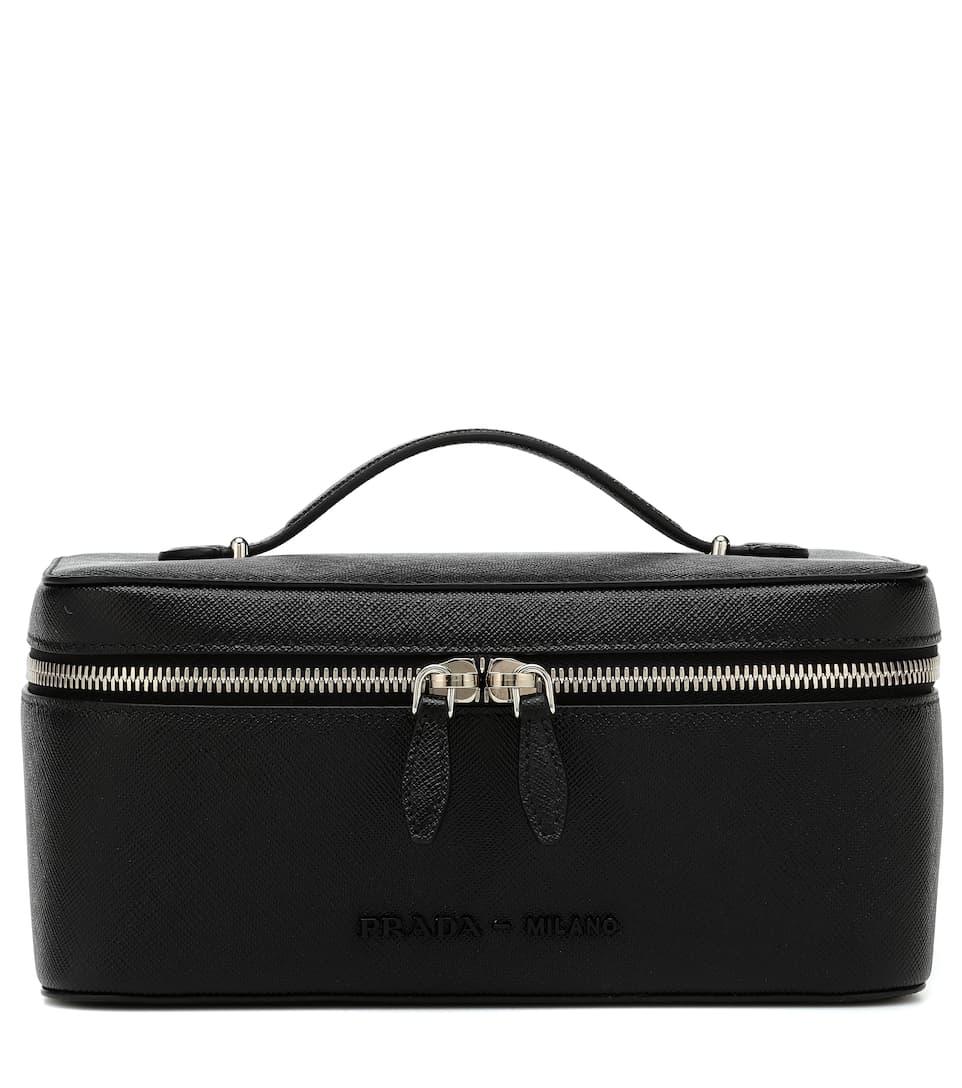 ec4ae5dc4b Prada - Medium saffiano leather pouch   Mytheresa
