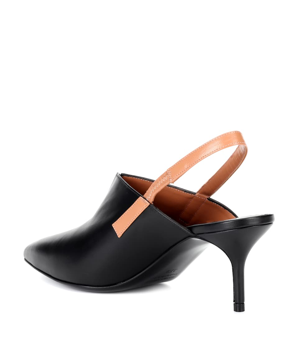 Pierre Hardy Slingback-Pumps Secret aus Leder