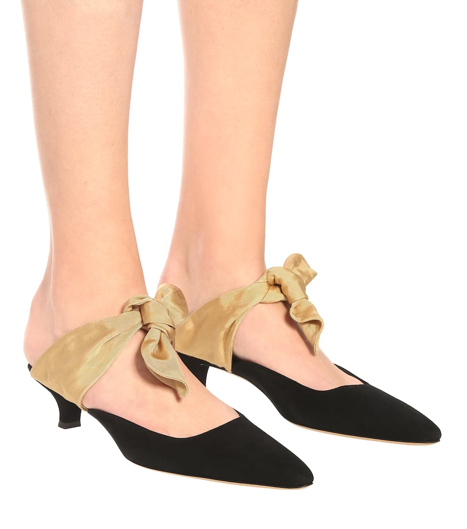 611f979b3214 Coco suede mules. NEW ARRIVAL. The Row