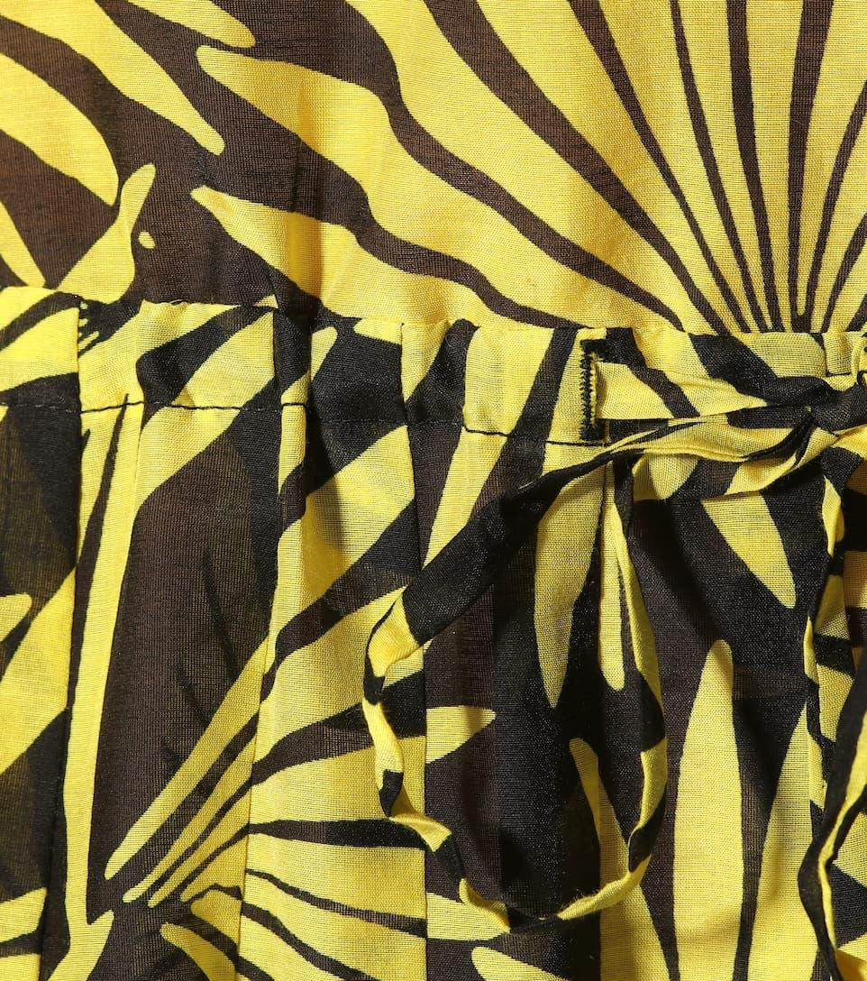 Diane von Furstenberg Kleid aus Baumwolle und Seide