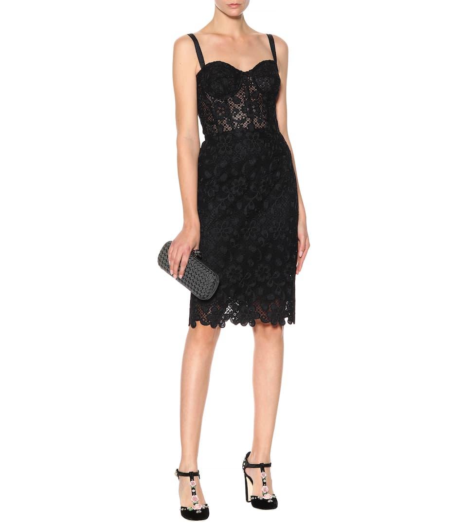 Dolce & Gabbana Kleid aus Cordonnet-Spitze