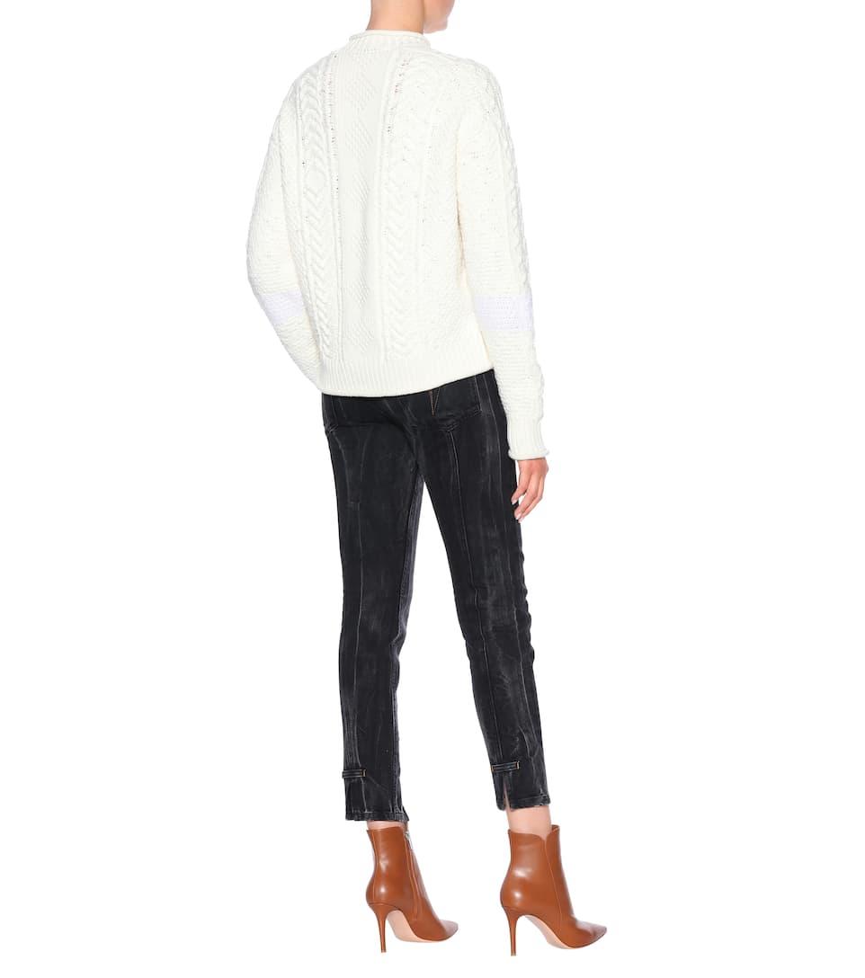 Givenchy de Suéter Ecru cachemira lana Blanc y mezcla de rdrXqwf