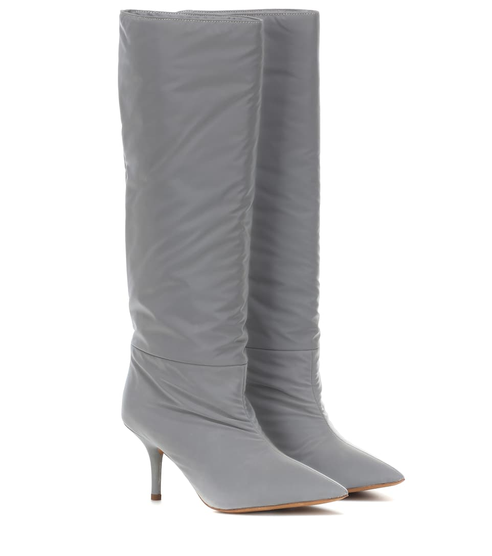 discount up to 60% top fashion highly praised Reflective knee-high boots (SEASON 8)