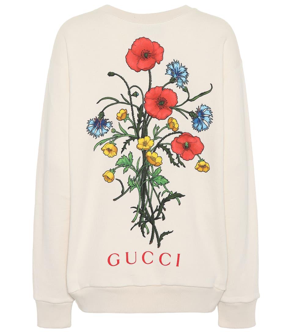 4e8c8d6b Chateau Marmont Cotton Sweatshirt - Gucci | mytheresa.com