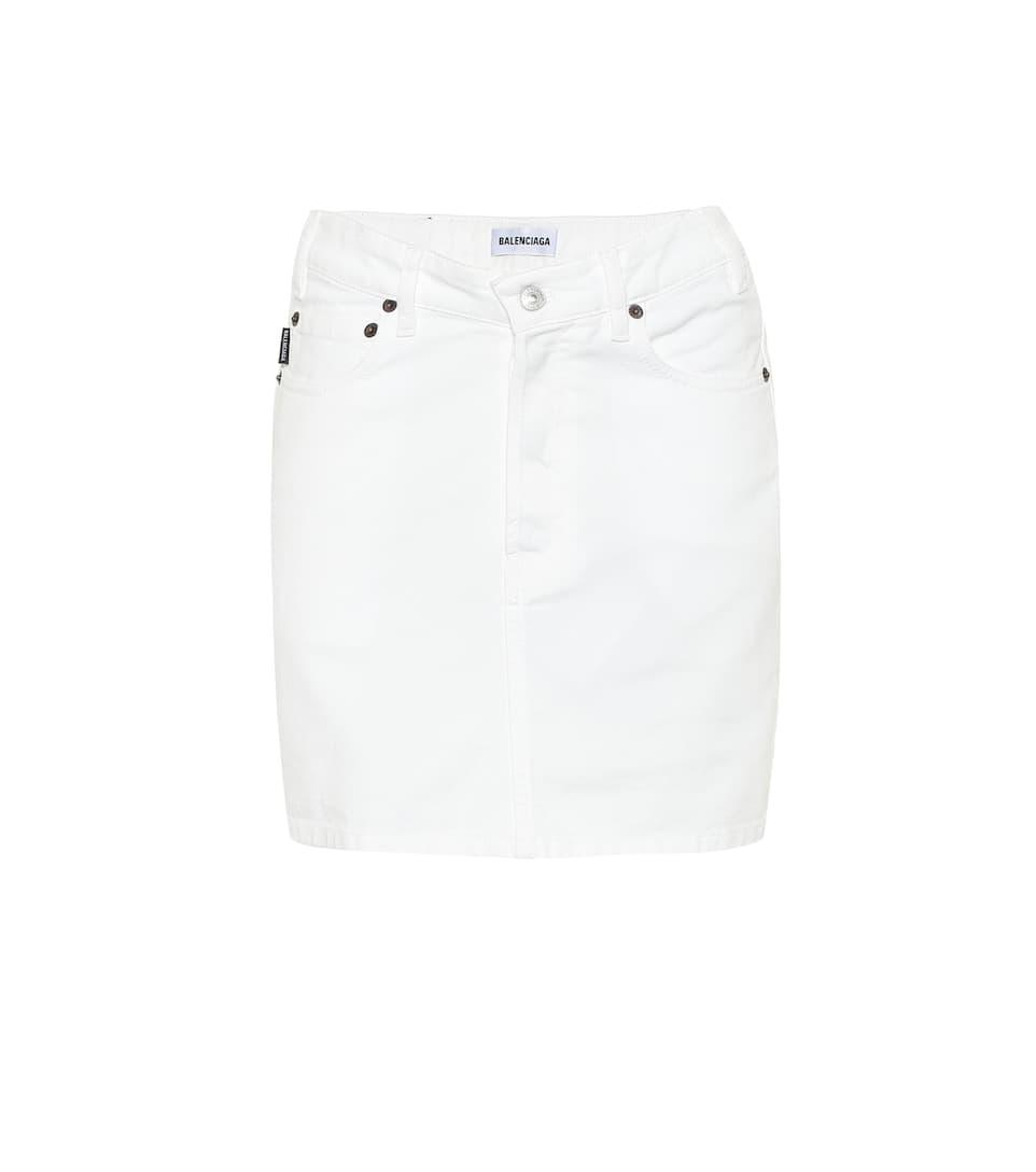 e45c7ad93b8234 Balenciaga - Mini-jupe en jean | Mytheresa