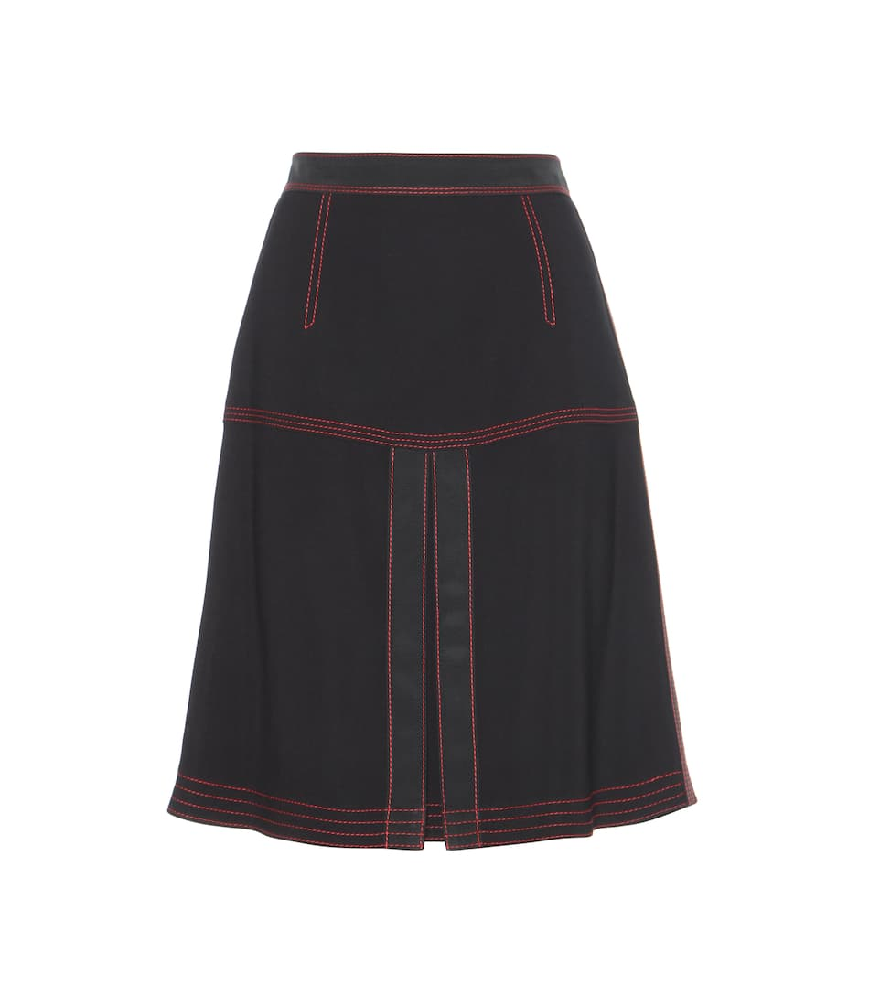 Burberry Crêpe skirt