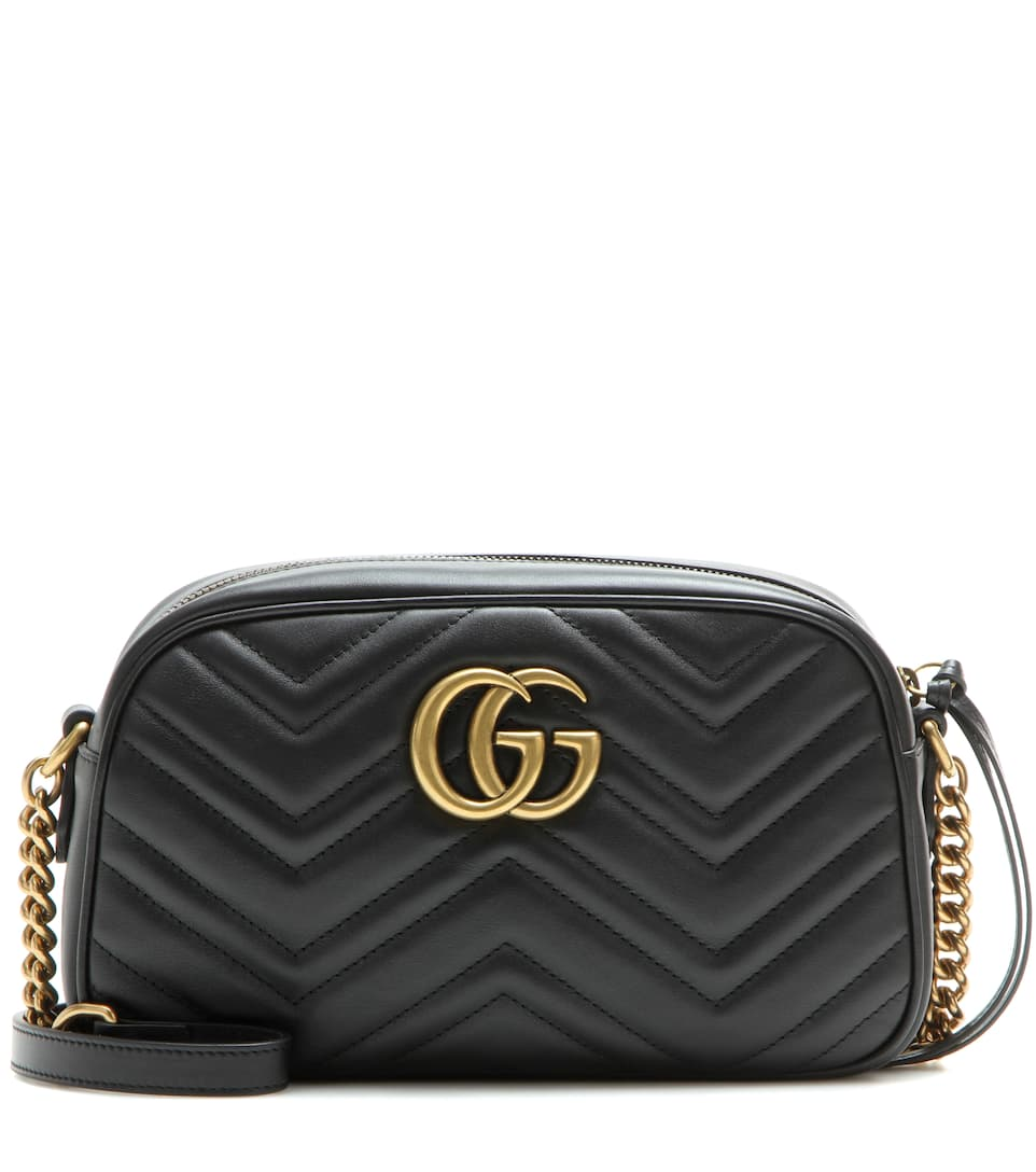Gucci GG Marmont matelassé leather crossbody bag
