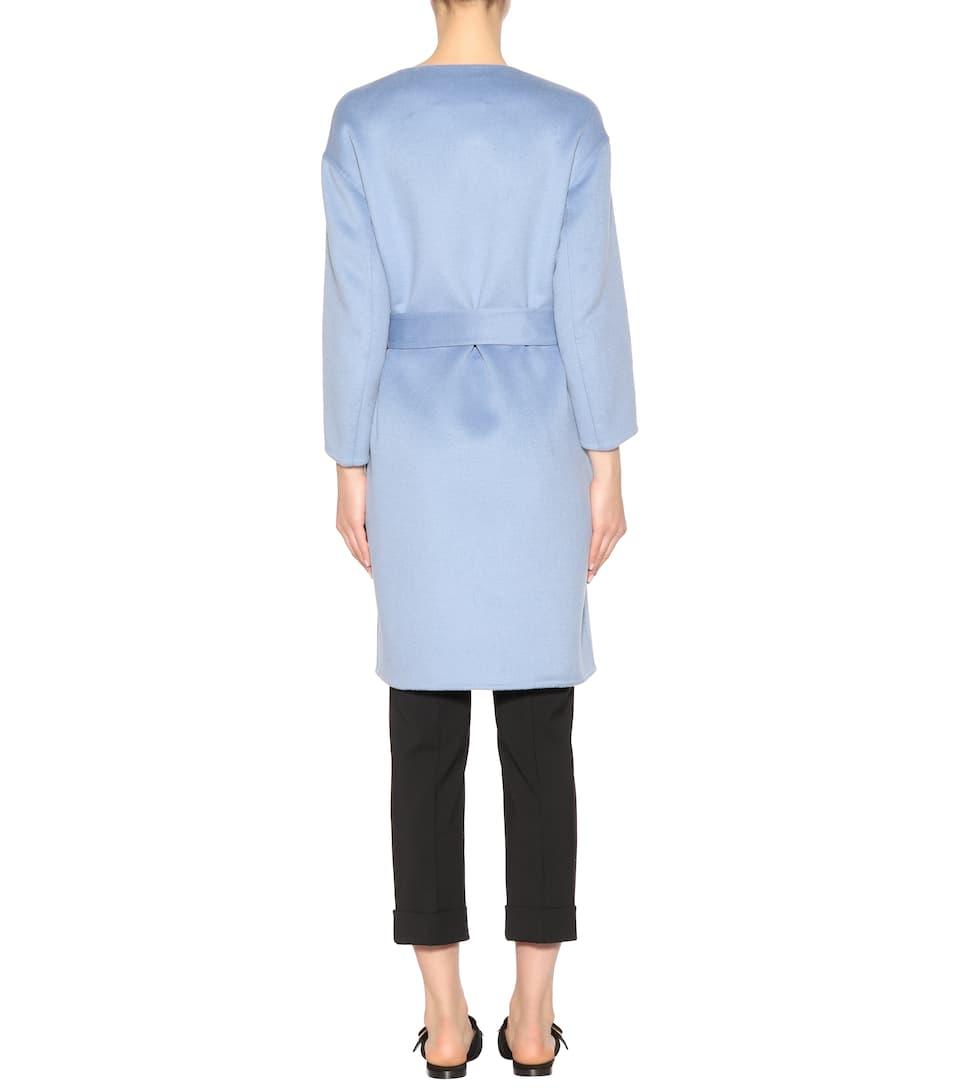 Prada Mantel aus Wolle, Angora und Cashgora
