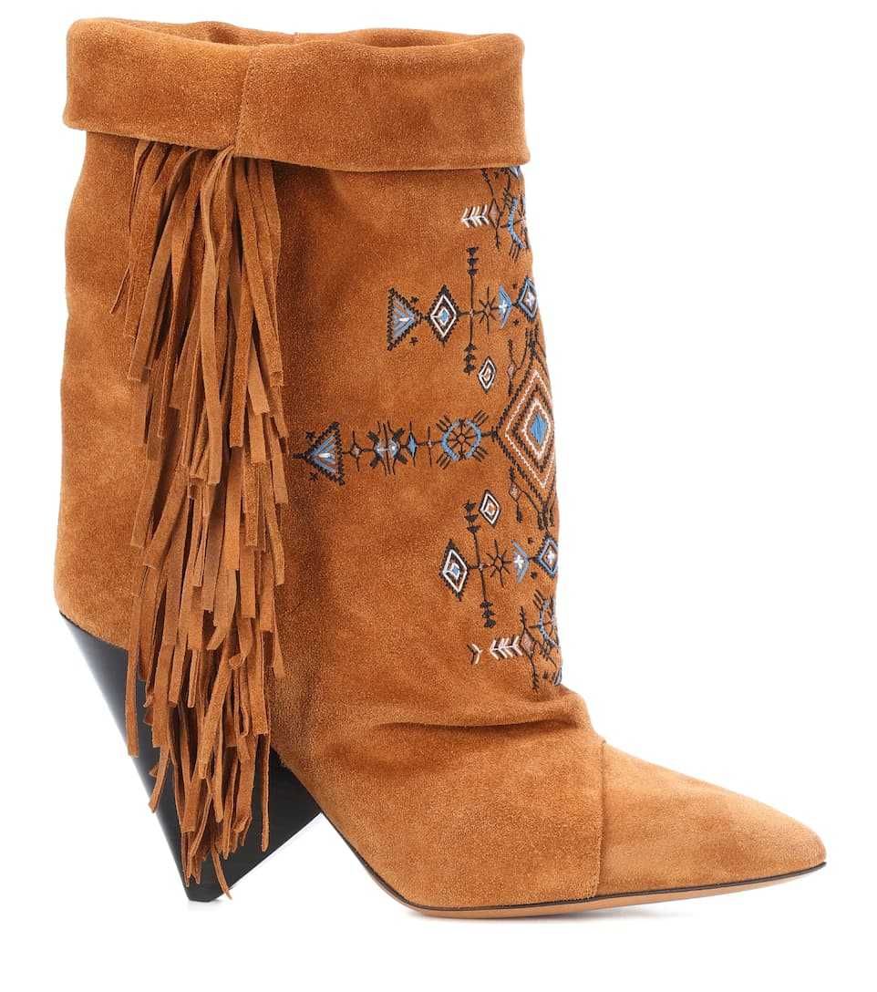 Isabel Marant Boots Lesten From Suede