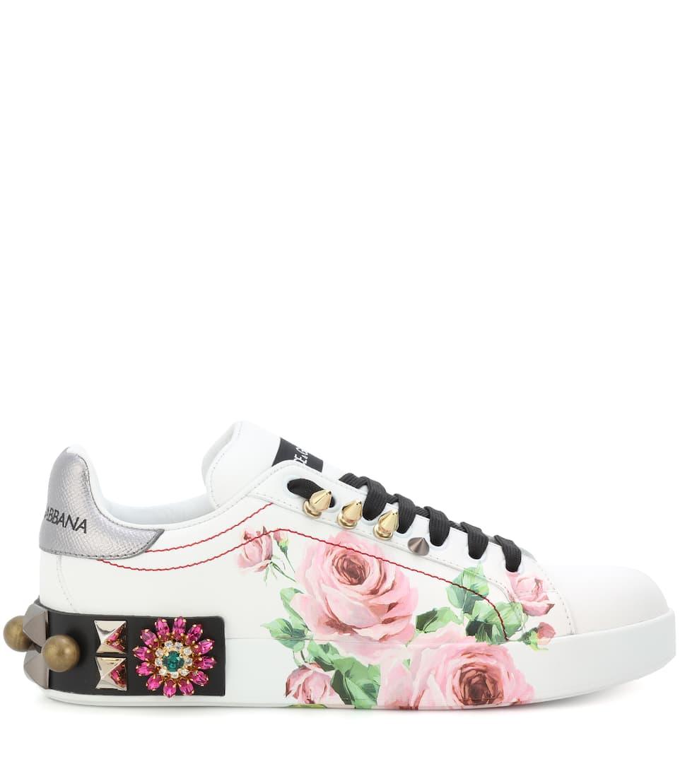 Leder Dolce Sneakers aus amp; Dolce Gabbana Gabbana amp; g6Odxwvq0