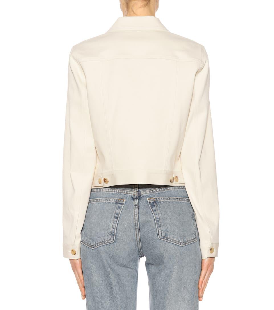 The Row Jeansjacke aus Stretch-Baumwolle
