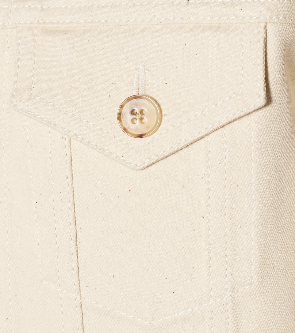 The Row Jeansjacke aus Stretch-Baumwolle Freies Verschiffen 100% Garantiert jGrdKv