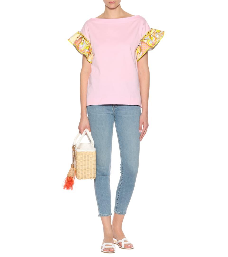 Emilio Pucci T-Shirt aus Baumwolle