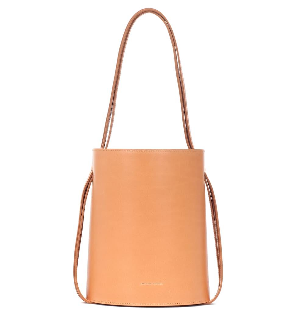 f40c1bf6d888 Fringe Leather Bucket Bag