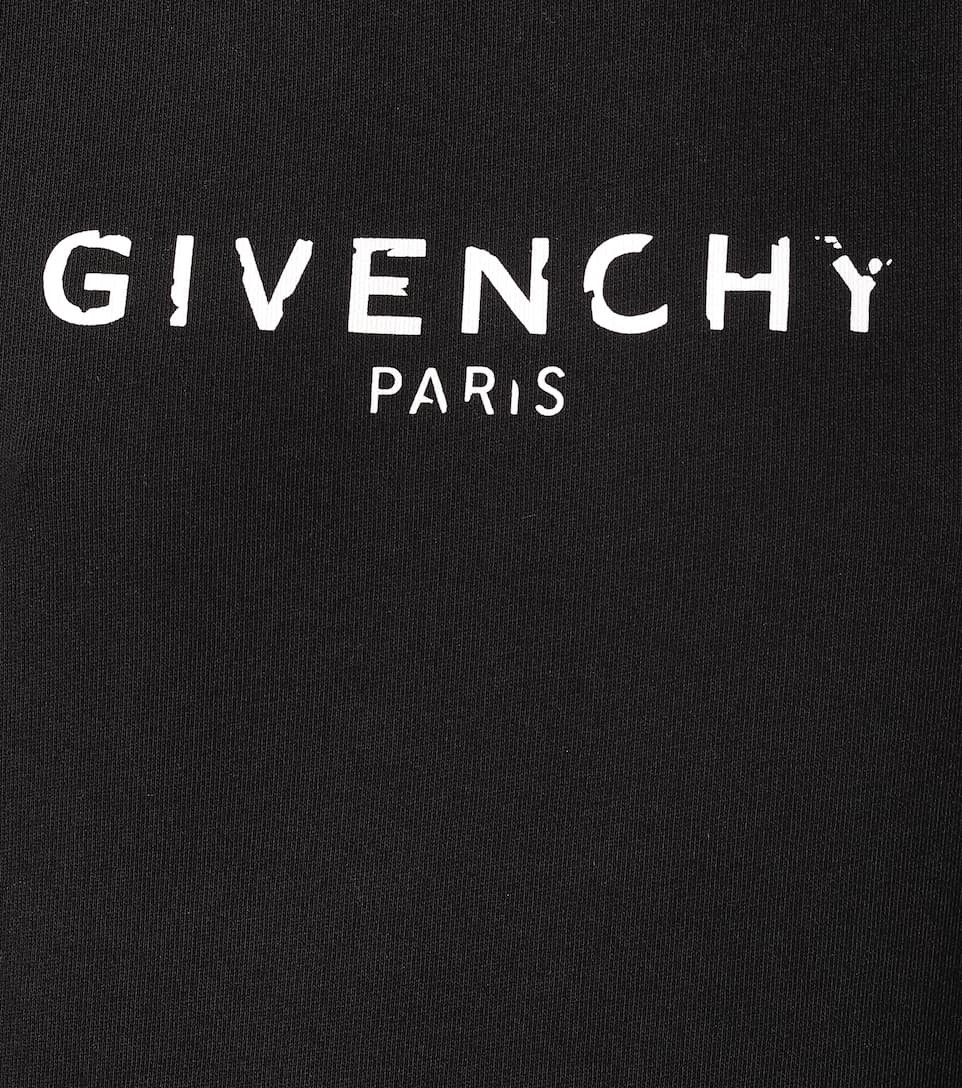 Givenchy - Vintage logo cotton hoodie