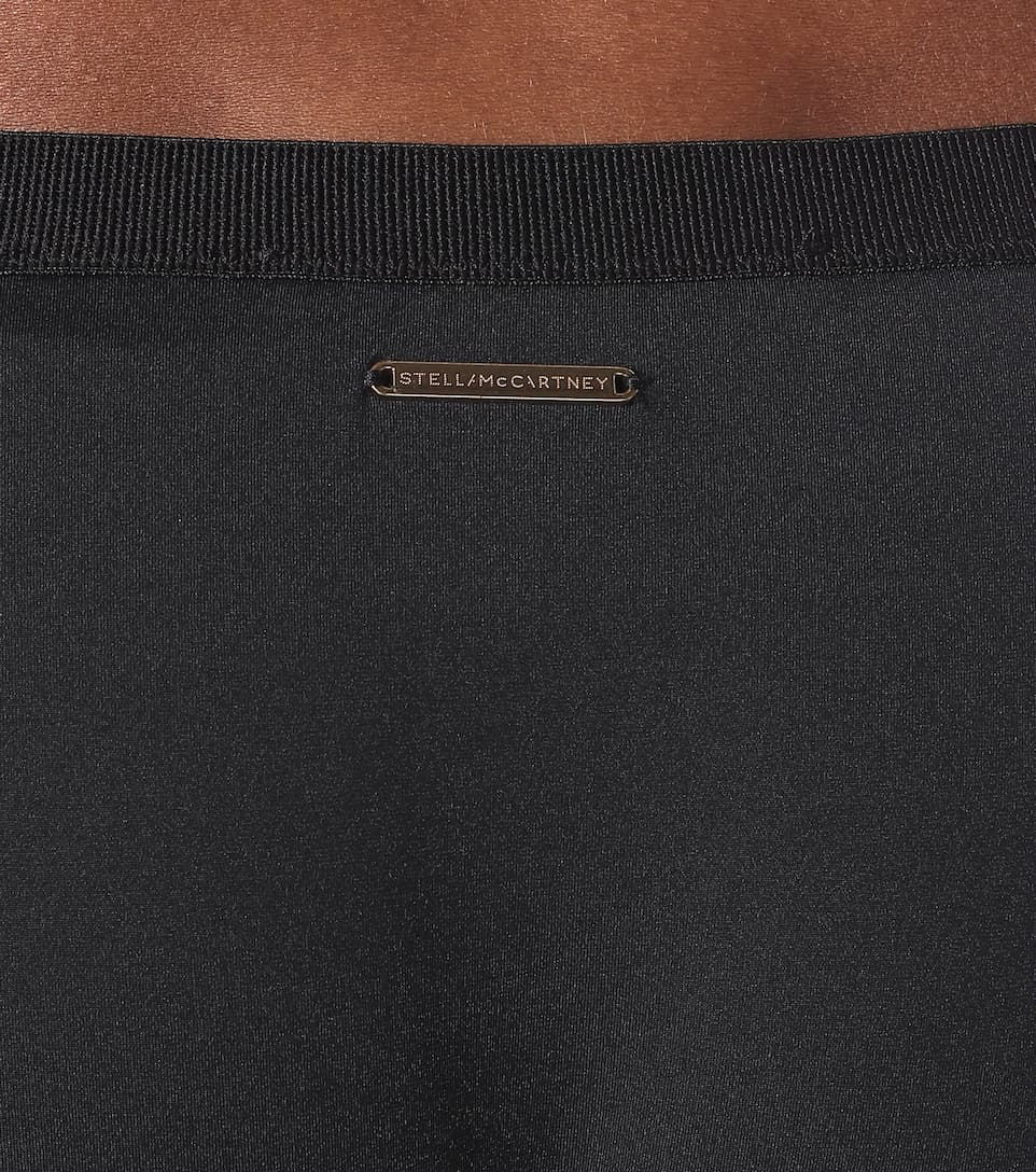 Stella McCartney - Mesh-trimmed bikini bottoms