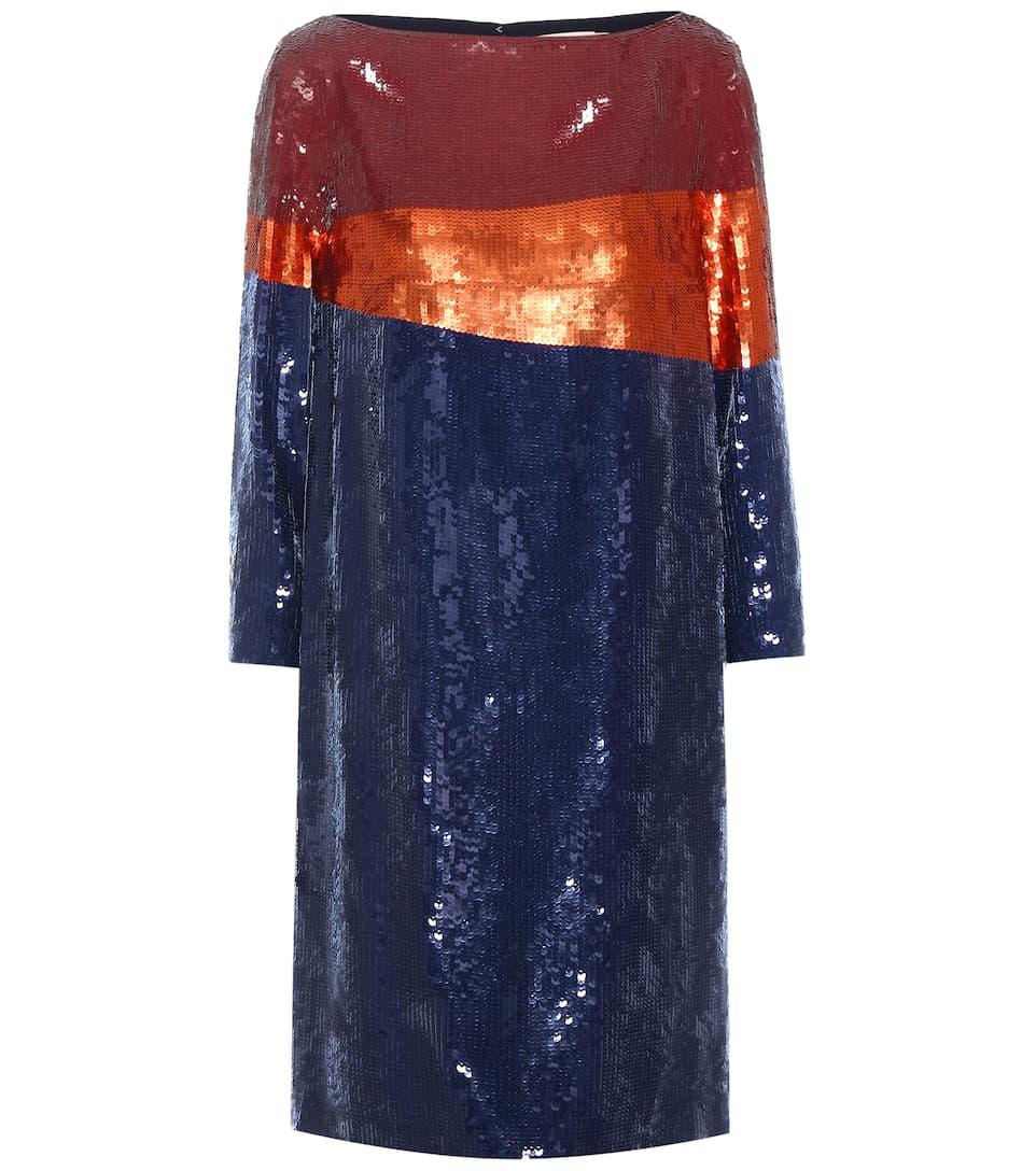Tory Burch Justine sequin embellished dress