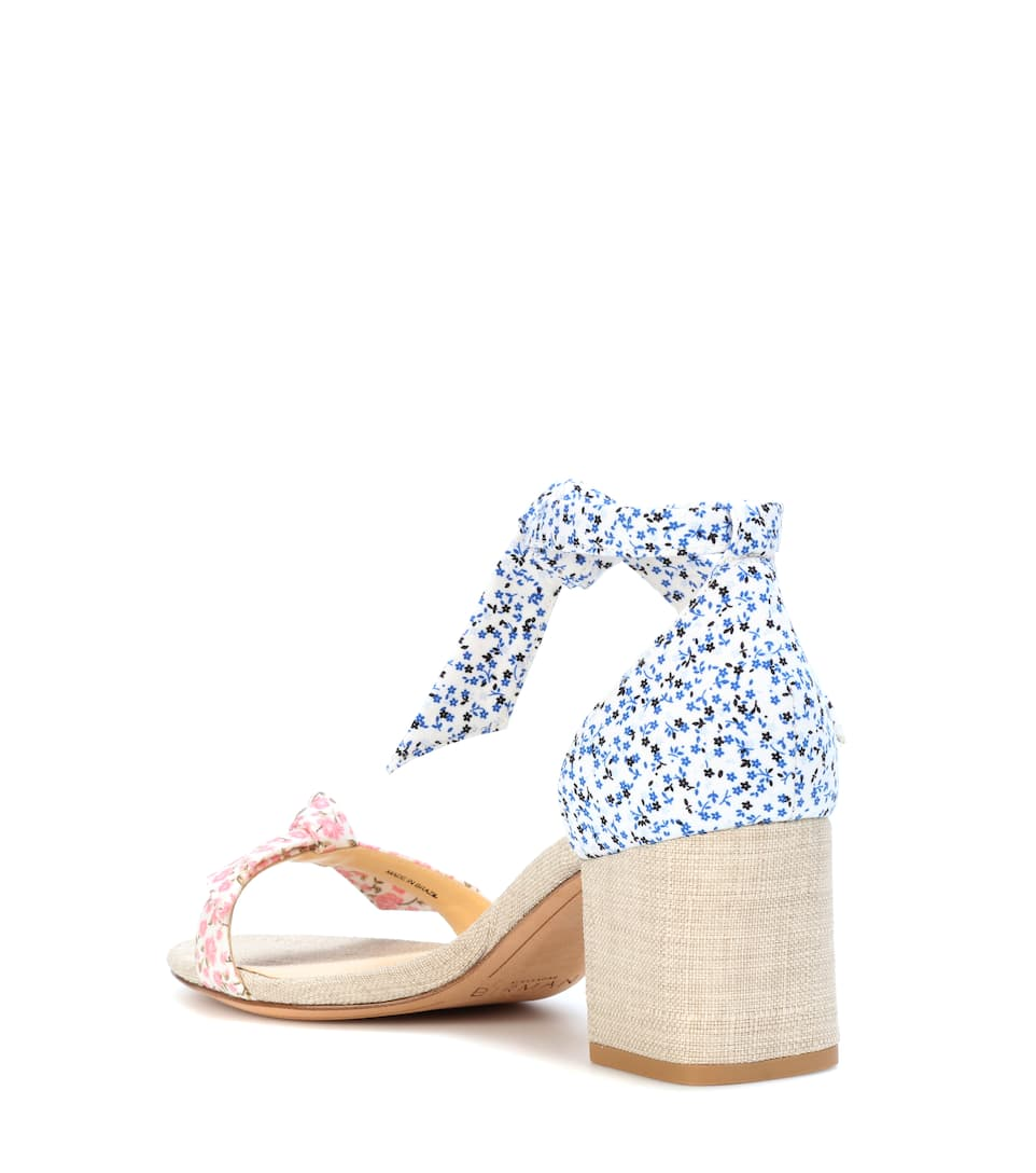 Exclusive to mytheresa.com - Clarita floral-printed sandals Alexandre Birman y0HStLi