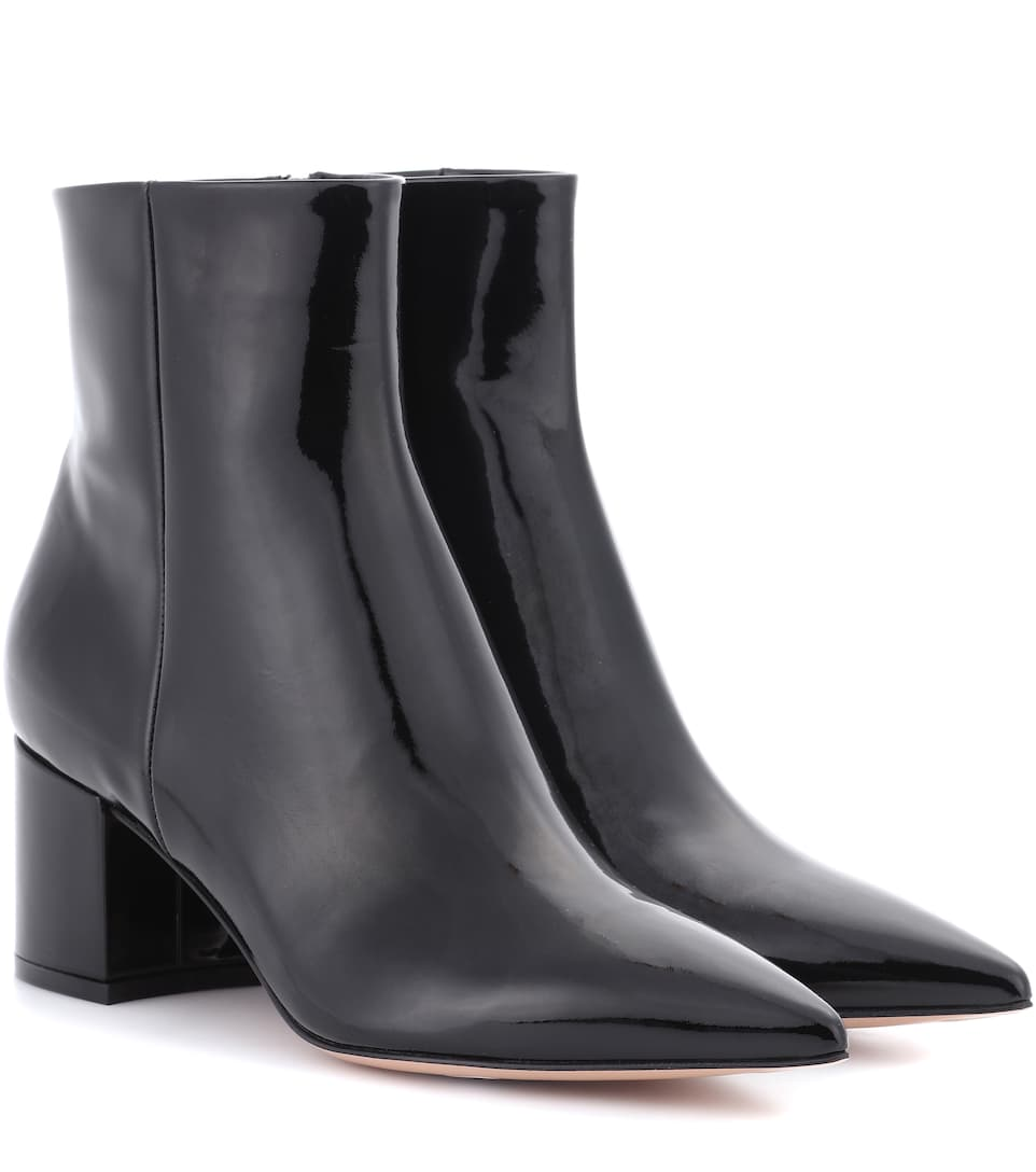 Exclusive To Mytheresa.Com - Piper Patent Leather Ankle Boots in Black