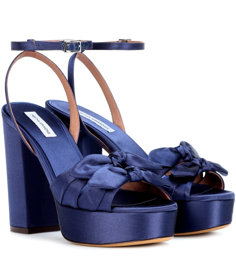 Tabitha Simmons JODIE SATIN SANDALS