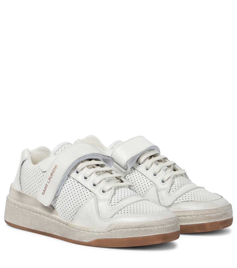 Saint Laurent - SL24 leather sneakers