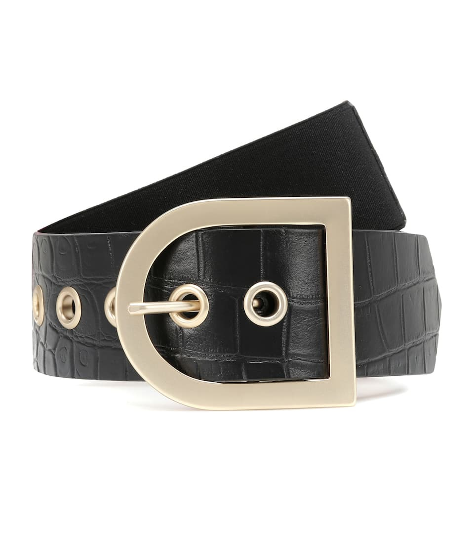 MM Croc Effect Belt