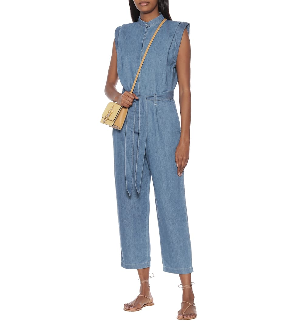 7 For All Mankind - Utility cotton and linen jumpsuit